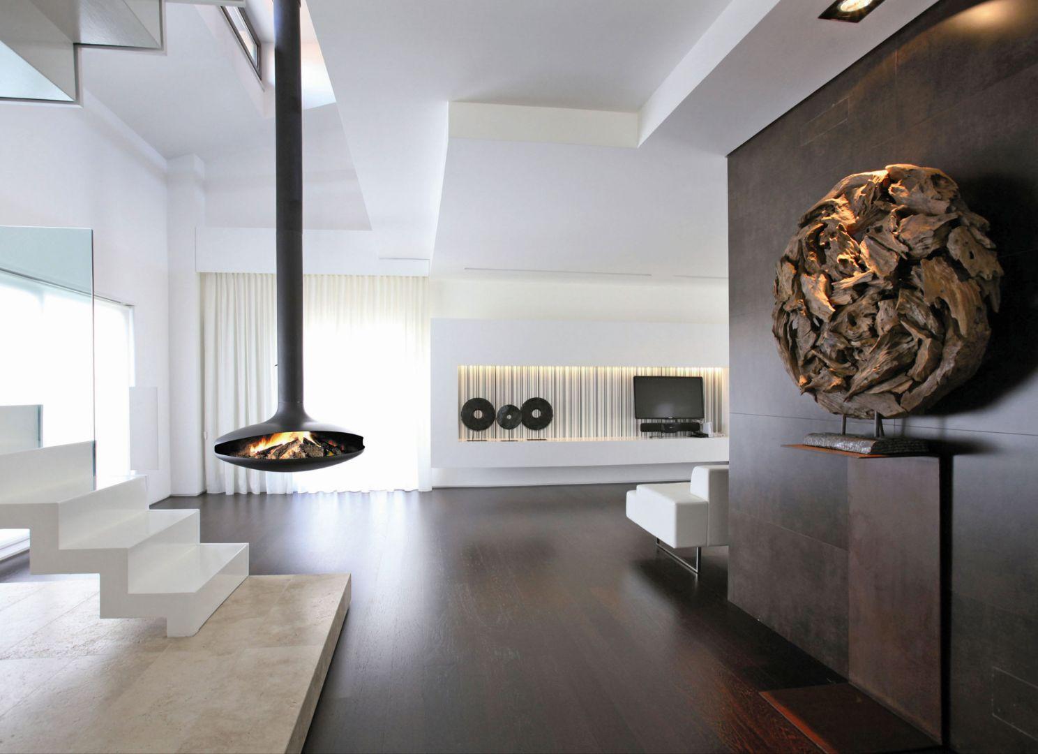 Installateurs et distributeurs de po les cheminee design for Cheminee interieur moderne